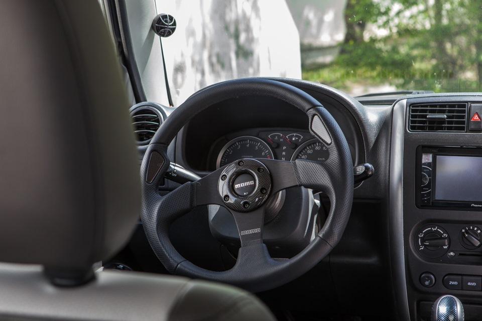 Спортиный руль momo Jaguar
